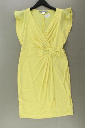 Ashley Brooke Stretch Dress yellow-neon yellow-lime yellow-dark yellow