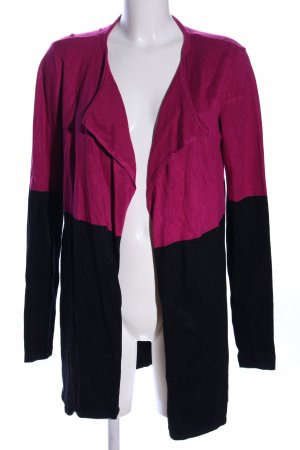 Ashley Brooke Cardigan tricotés rose-noir style décontracté