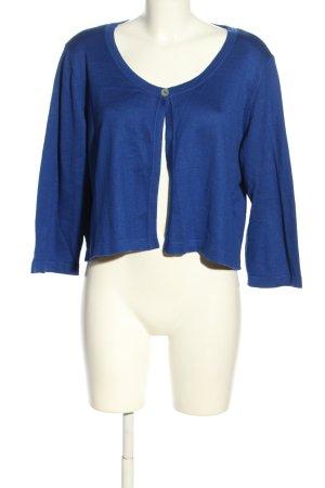 Ashley Brooke Boléro en tricot bleu style décontracté