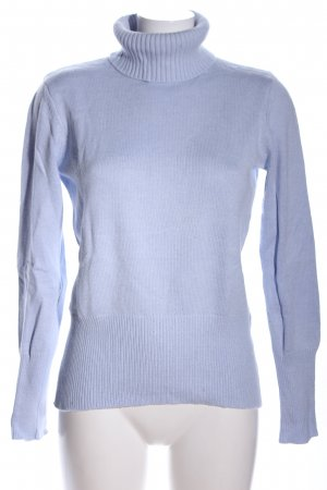 Ashley Brooke Strickpullover blau Casual-Look