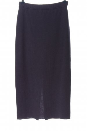 Ashley Brooke Knitted Skirt blue casual look