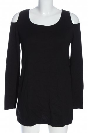 Ashley Brooke Knitted Jumper black casual look