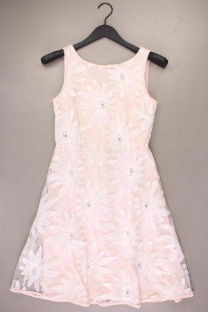 Ashley Brooke Trägerkleid Größe 34 mit Blumenmuster Ärmellos rosa aus Polyester