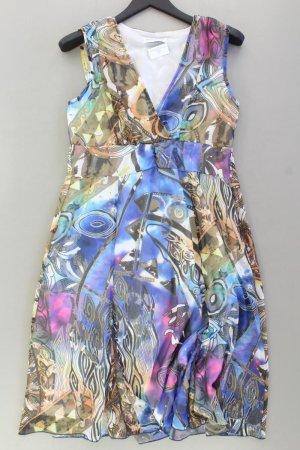 Ashley Brooke Robe à bretelles multicolore polyester