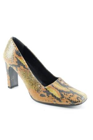 Ashley Brooke Zapatos Informales estampado de animales estilo extravagante