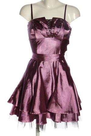 ASHWI Paris Mini Dress lilac extravagant style