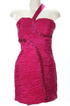 ASHWI Paris Minikleid pink Glanz-Optik