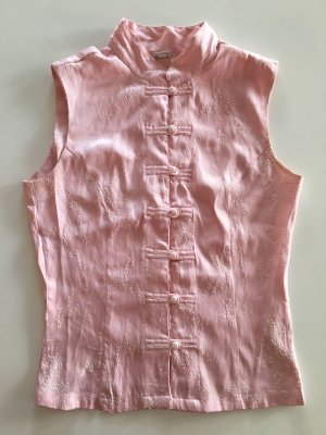 Top Studio Stand-Up Collar Blouse pink