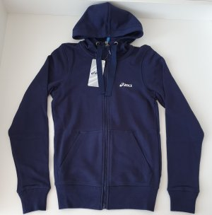 Asics Capuchon sweater donkerblauw