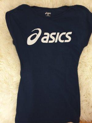 Asics Sportshirt donkerblauw