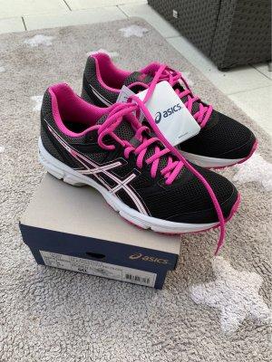 Asics gel emperor 3 schwarz weiß Pink Gr 38 UK 5