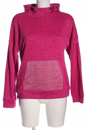 Asics Felpa con cappuccio rosa stile casual