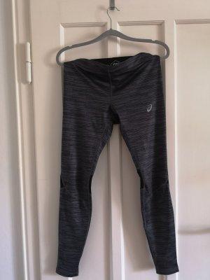 Asics Spodnie sportowe czarny-ciemnoszary