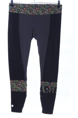 Asics Legging motif de fleur style athlétique
