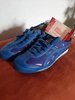 Asics Basket à lacet bleu-bleu violet