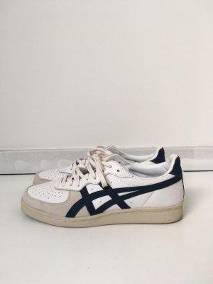 ASICS Onitsuka tiger 40 weiss blau Sneakers Turnschuhe Sneaker Retro beige