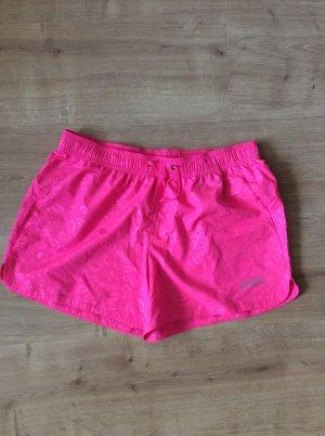 Asics Short de sport rose-rose fluo
