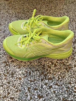 Asics Sneakers met veters neongeel