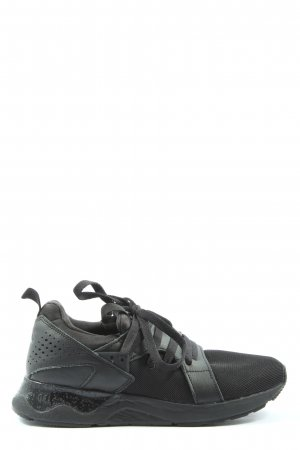 Asics Lace-Up Sneaker black casual look