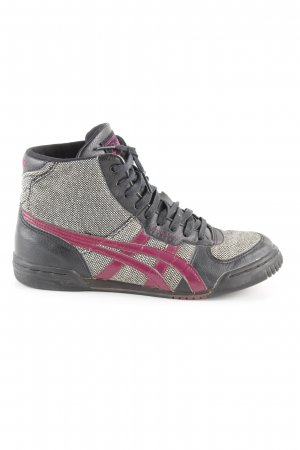 Asics Schnürsneaker Karomuster Casual-Look