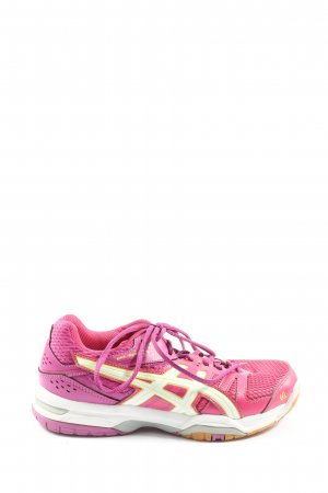 Asics Lace-Up Sneaker pink athletic style