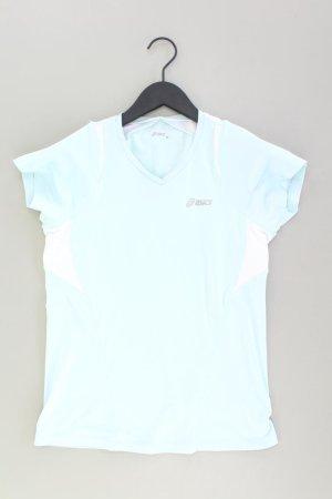 Asics T-Shirt blue-neon blue-dark blue-azure polyester