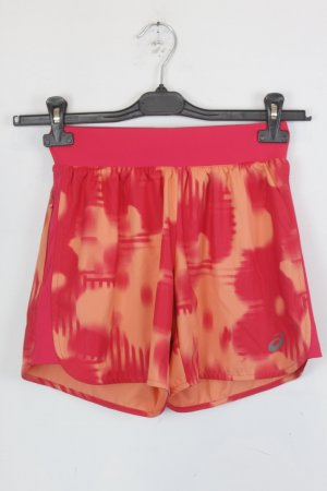 Asics Shorts Sportshorts Gr. S rot/orange