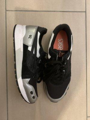 Asics High top sneaker zwart-zilver