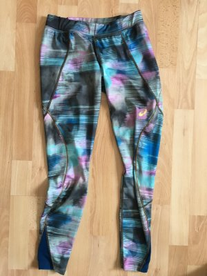 Asics Legging korenblauw-violet Polyester