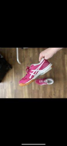 Asics Basket à lacet rose