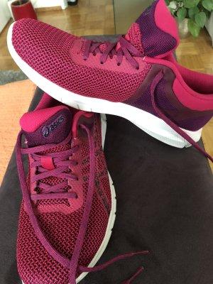 Asics Basket à lacet rose-violet