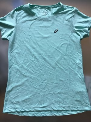 Asics T-shirt de sport vert menthe-turquoise
