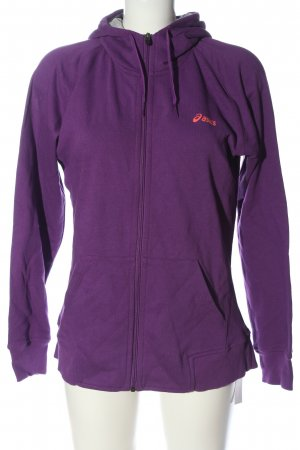Asics Sweat Jacket lilac casual look