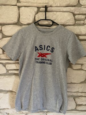 Asics T-Shirt silver-colored