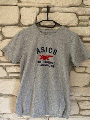 Asics T-shirt argenté