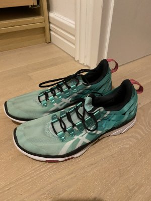 Asics Lace-Up Sneaker mint-lime-green mixture fibre