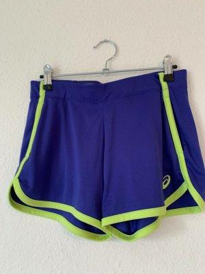 Asics Pantalón corto deportivo violeta oscuro-violeta amarronado