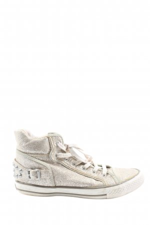 asn High Top Sneaker silver-colored casual look