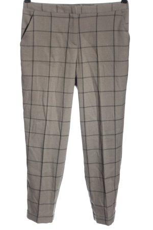 Asos 7/8 Length Trousers light grey allover print elegant