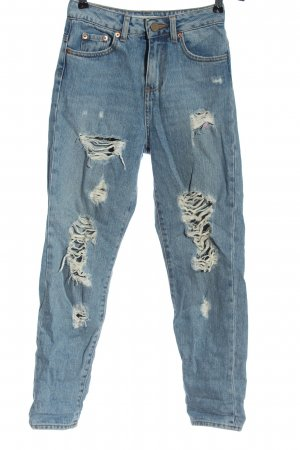 Asos 7/8-jeans blauw casual uitstraling