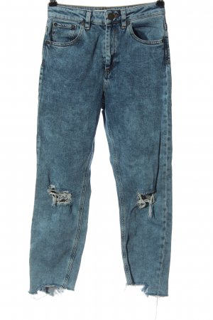 Asos Jeans a 7/8 blu stile casual