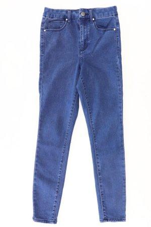 Asos Jeansy 7/8 niebieski-niebieski neonowy-ciemnoniebieski-błękitny Bawełna