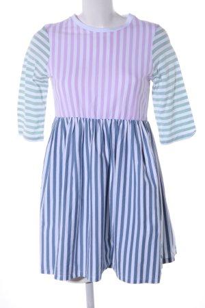 Asos A-Linien Kleid Streifenmuster Casual-Look