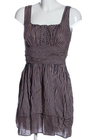 Asos A-Linien Kleid blau-creme Allover-Druck Casual-Look