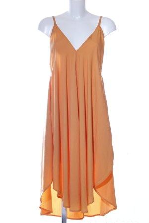 Asos A-Linien Kleid hellorange Elegant