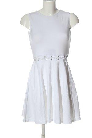 Asos A-Linien Kleid weiß Casual-Look