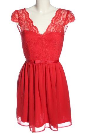 Asos A-Linien Kleid rot Elegant