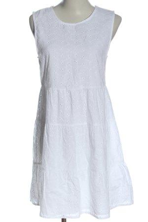 Asos Vestido línea A blanco look casual