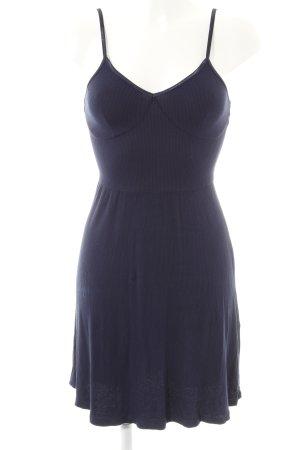 Asos A-Linien Kleid dunkelblau Casual-Look