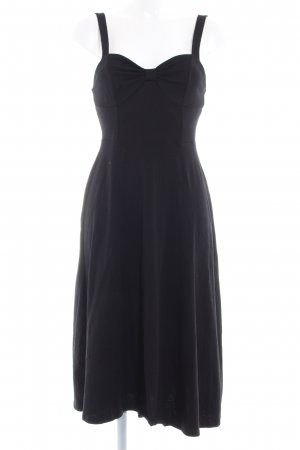 Asos A-Linien Kleid schwarz Skater-Look